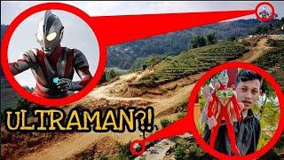 DRONE MENANGKAP SOSOK ULTRAMAN MENGGUNAKAN MAINAN ULTRAMAN!!😱 #TERSERAM