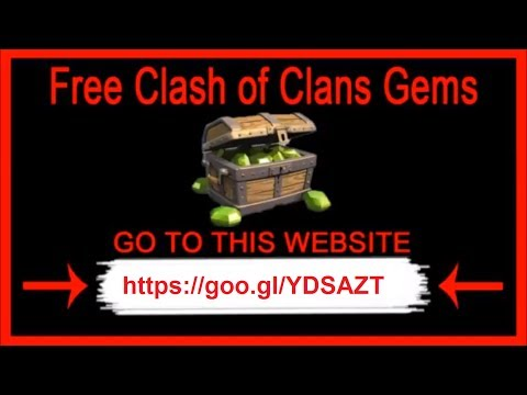 Clash of Clans Hack - How To Get Free Gems in Clash of Clans \\ 2017 \\ 9999999 Gems