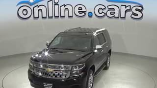 A99651TA Used 2015 Chevrolet Tahoe LT 4WD SUV Black Test Drive, Review, For Sale