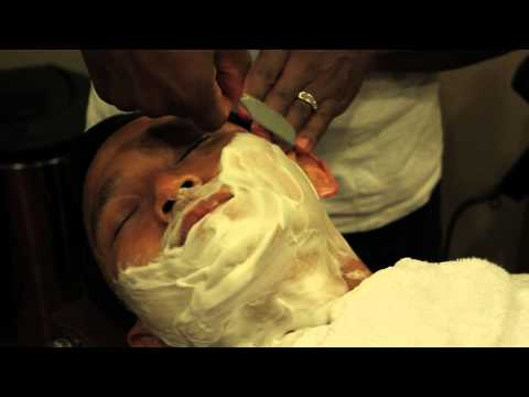 how-do-barbers-get-the-closest-shave?-:-shaving-tips