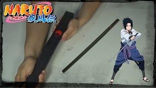 Kusanagi Espada de Sasuke Uchiha | Chokuto | Naruto shippuden