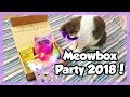 meowbox Unboxing - Cat Subscription Box - January 2018