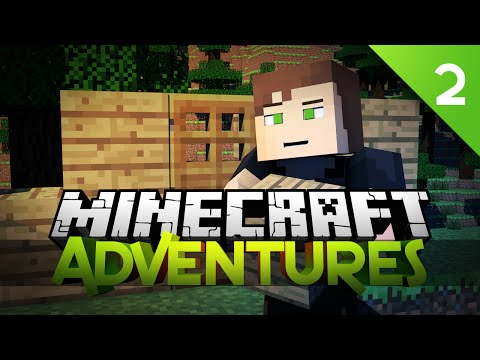 Minecraft Adventures - BASE BUILDING TIME! EP 2 (Minecraft Gameplay Live)