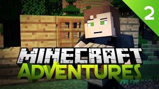 Minecraft Adventures - BASE BUILDING TIME! EP 2 (Minecraft Gameplay Live)