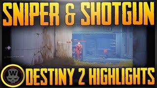 Destiny 2 Sniper,Shotgun & Captain American?! Highlights (PC BETA gameplay)