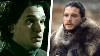 Game of Thrones Character Transformations: Then and Now