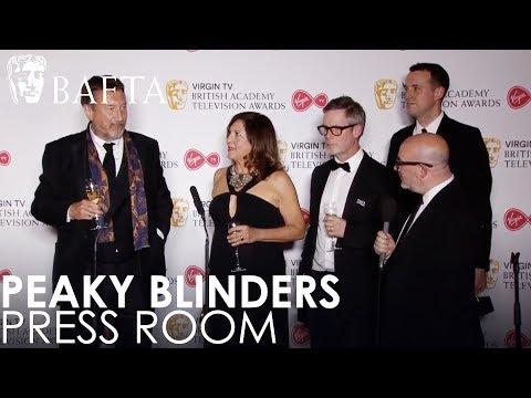 Peaky Blinders Speaks To The Press After Their Drama Series Win | BAFTA TV Awards 2018