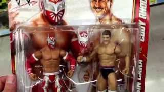 "WWE ""Sin Cara & Cody Rhodes - Battle Pack"" 2 Pack World Wrestling Action Figures / Toy Review"