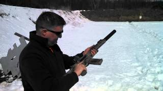 SUPPRESSED AR15 WITH SUBSONIC .223 AMMO