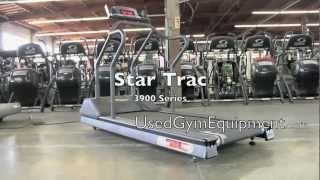 Star Trac 3900 Treadmills