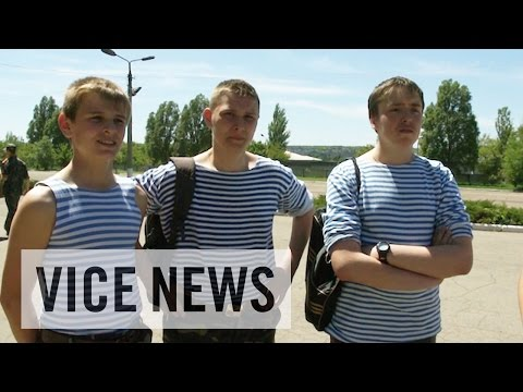 Gun Talk with Young Cadets (Excerpt from 'Child Warriors of Donetsk')