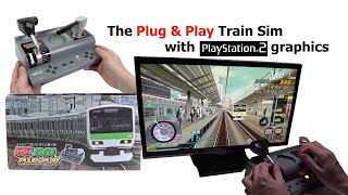 Densha de Go! Plug & Play TV Game Train Simulator - A surprisingly capable dedicated console