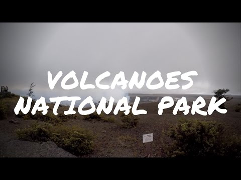 Hawaii Volcanoes National Park - Kilauea