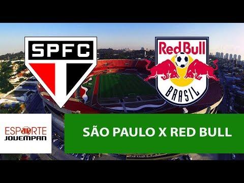 Transmissão AO VIVO - São Paulo x Red Bull