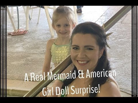 A REAL MERMAID & AMERICAN GIRL DOLL SURPRISE! | KWAPISFAMILYTACKLES