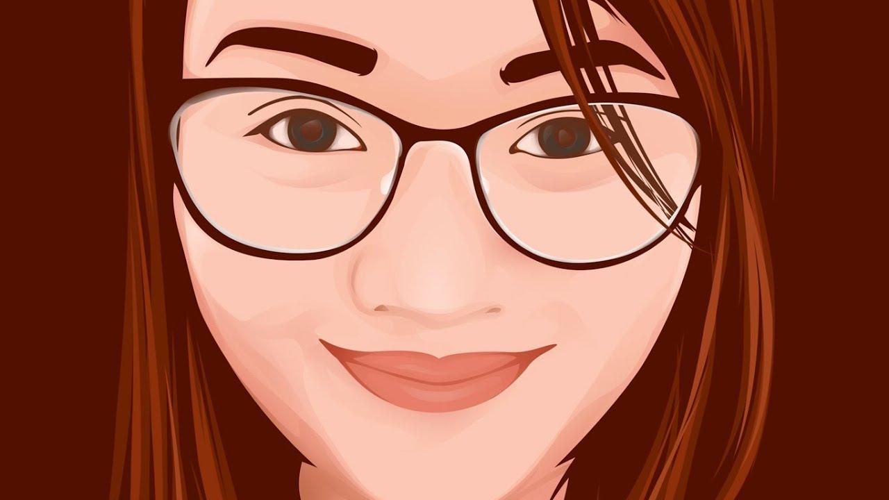 Cartoon Effect / Vector Vexel Art Using Photoshop Tutorial