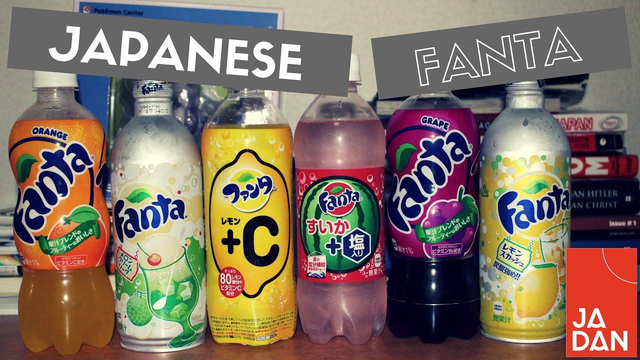 6 Weird Fanta Flavours That Only Exist In Japan Jadan Dan In