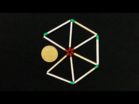 13 Matchstick Puzzles