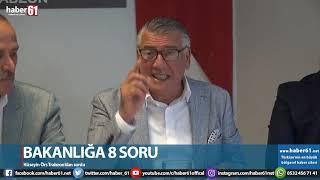Bakanlığa 8 soru! Hüseyin Örs Trabzon'dan sordu