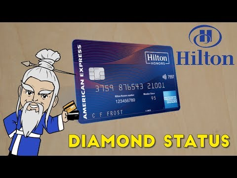 AMEX To Release DIAMOND STATUS Hilton Card