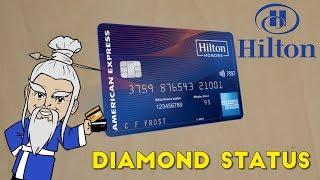 AMEX to Release DIAMOND STATUS Hilton Card