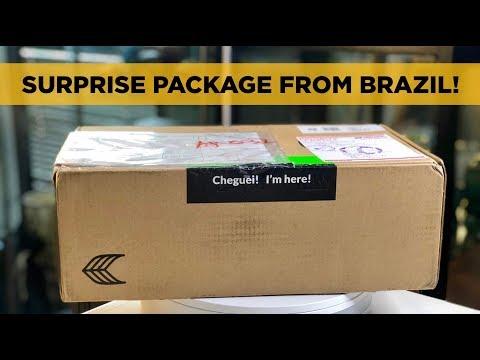 SURPRISE SNEAKER PACKAGE FROM RIO, BRAZIL! Cariuma Catiba Review!