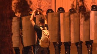 Protesters Clash With Police In Belarus After Lukashenka Wins Sixth Term