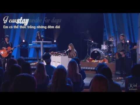 [Vietsub - Kara] Human - Christina Perri [Live]