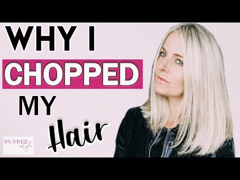 Why I Chopped My Hair & Healthy Hair Tips