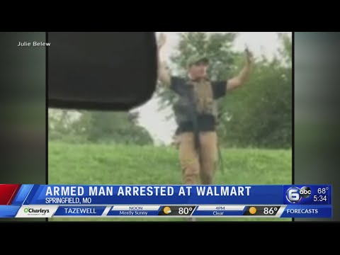 Manny's - Missouri Man Arrested After Walking Through WalMart Fully Armed With Rifle