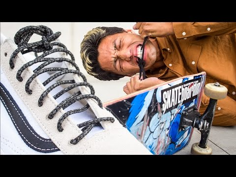 ddb3f757ca UNBREAKABLE SHOE LACES?! The Ultimate Test! - YouTube