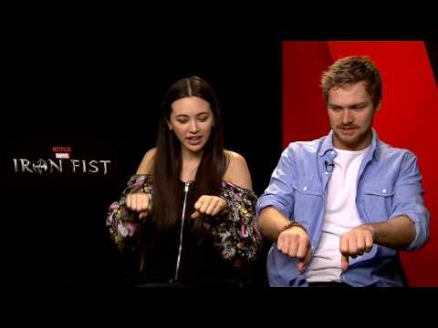 Jessica Henwick et Finn Jones - Interview pour la sortie de Iron Fist