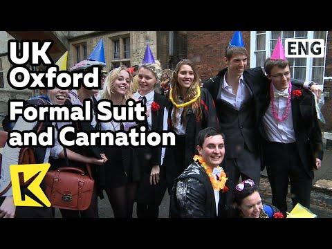 【K】UK Travel-Oxford[영국 여행-옥스퍼드]시험 필수 복장, 정장과 카네이션/Formal Suit/Carnation/Exam/Dress Code