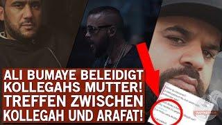 Ali Bumayé beleidigt Kollegahs Mutter! | HIER wollen Kollegah und Arafat sich treffen!
