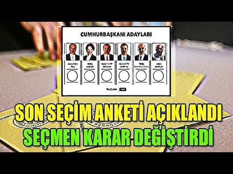 24 haziran seçimi son anket. Muharrem ince seçimi alır mı? Erdoğanın oy oranı ne? Meral akşener oyu?