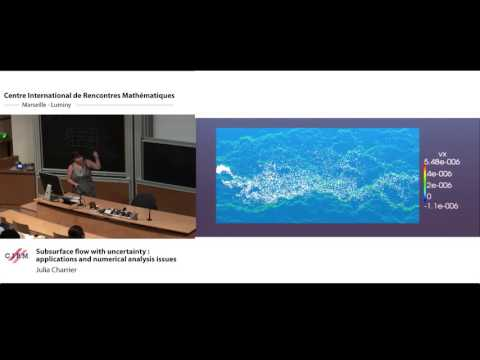 Julia Charrier:  Subsurface flow with uncertainty : applications and numerical analysis issues