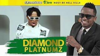 Diamond platinumz in Madagascar performance live