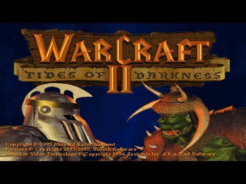 Warcraft II: Tides of Darkness Longplay - Human Campaign - Часть 1 (Live)