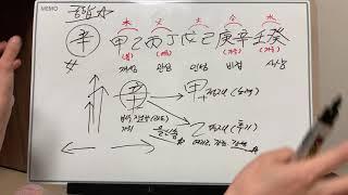 신금일간의 인간관계 궁합 천간열간(갑을병정무기경신임계) 1탄