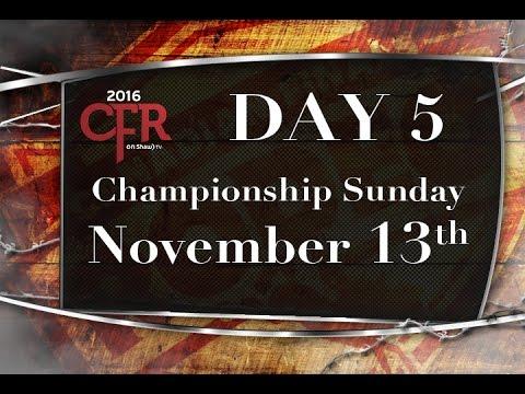 CFR DAY 5 Nov 13 1