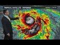 Hurricane Maria and Hurricane Jose Outlook for Tuesday, September 19, 2017