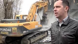 Снос незаконно построенного многоквартирного дома на землях ИЖС