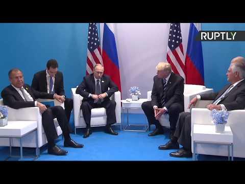 Putin & Trump hold first bilateral meeting at G20 Summit