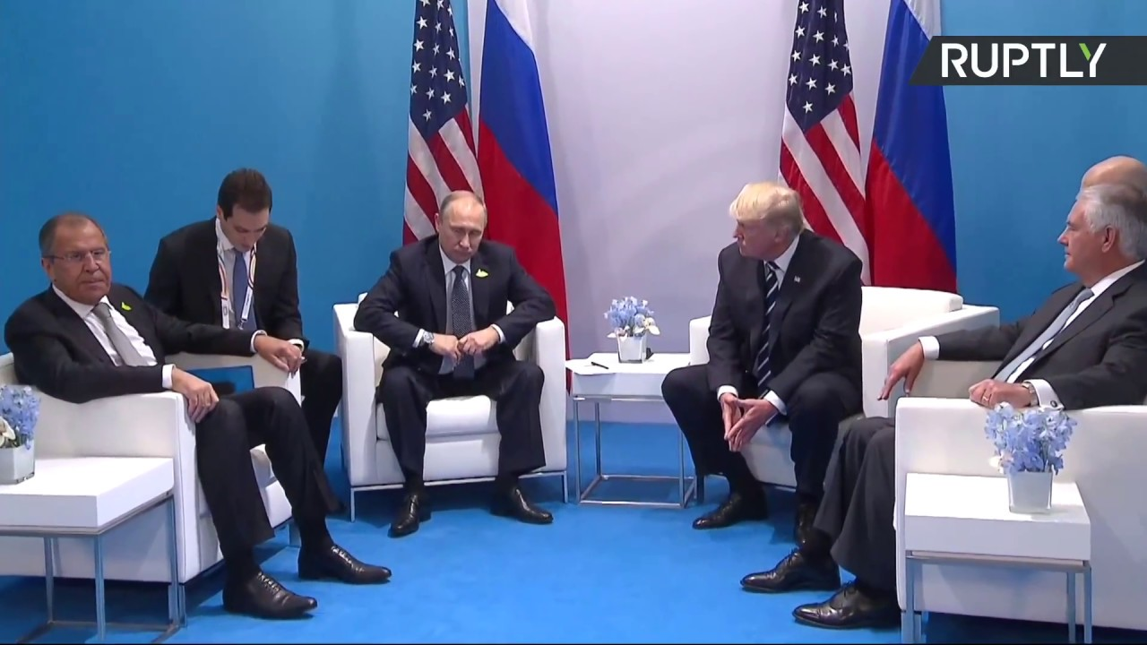 Image result for photos of trump and putin at g 20 summit