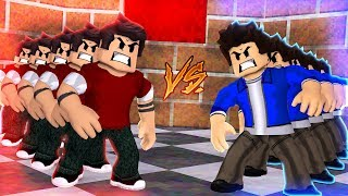 CLONES DO JEAN VS CLONES DO CHRISTIAN NO ROBLOX!!!