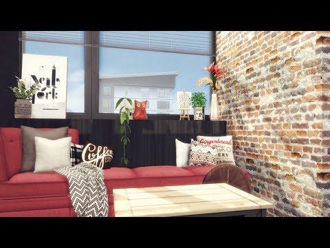 The Sims 4  930 Medina Studios Apartment Renovation