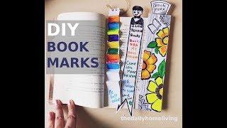 DIY book mark | DIY bookmarks with paper | Paper Craft | DIY tutorial | Bookmark for books