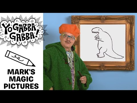 Mark's Magic Picture - Dinosaur - Yo Gabba Gabba!