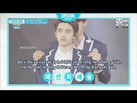 [Vietsub] 140919 EXO D.O. King of Shoulder - Super Idol Chart Show