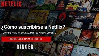 Como SUSCRIBIRSE a NETFLIX en 2020 | Registrarse y Crear una Cuenta de Netflix en 2020